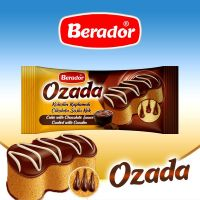Ozada Cake With Chocolate Sauce Coated With Cocolin