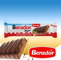 Berador COCOA COMPOUND COATED HAZELNUT FLAVORED COCOA CREAM WAFER