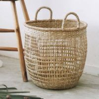 Seagrass Open Weave Storage Basket