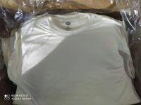 Men's white solid colour half sleeve t-shirt
