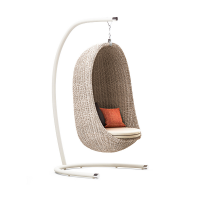 Arvabil Handmade Wicker Nest Egg Swing for Home and Garden, Prime Design