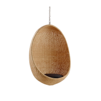 Arvabil Handmade Natural Egg Swing, Prime Design for Home, Garden, Hotel, Farm