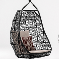 Arvabil Handmade Wicker Jannat Egg Swing for Home and Garden, Prime Design