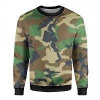Sublimated Camo Sweatshirt