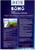 Organomineral drip fertilizer