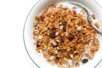 Whole grain cereal honey
