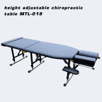 portable chiropractic table with drop system chiropractic bed