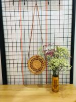 Vietnamese Vintage 100% Handmade Bamboo Rattan Handbag