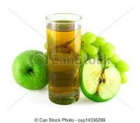 Highly premium natural apple grape juice