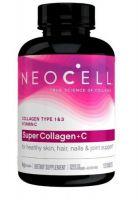 Super Collagen +C, Neocell Laboratories, 120 tablet