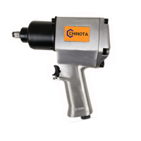 """1/2"""" AIR IMPACT WRENCH TWIN HAMMER"""