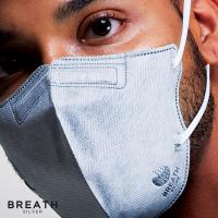 Breath Silver Mask - Quintet Regular Grey