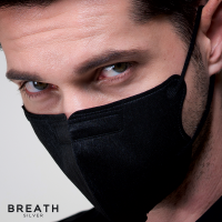 Breath Silver Mask - Quintet Regular Black