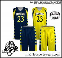 Basketball Jersey Uniform