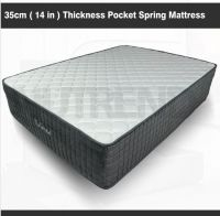 Memory foam pocket spring/latex Mattress