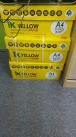 Ik yellow A4 papers