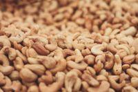 Dried organic cashews