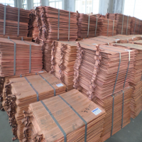 100% high quality copper Cathode