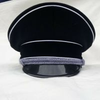 Black military visor hat /cap