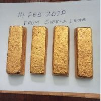 Sierra Leone Gold Bars - Gold Dust - Gold Nuggets