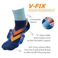 [DeParee] V Fix Arch Support Sporty Socks-L