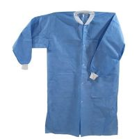 non woven Disposable lab coat surgical lab coat