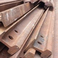 Used Rail HMS1&2 export quality Melting Rail Scrap Oem Steel Iron Scrap for sale used rails steel