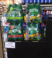 PERRIER SPARKLING WATER Available