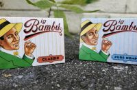 BIG BAMBU ROLLING PAPER CIGARETTE PAPER FOR SMOKING 50 BOOKLETS A BOX SIZE