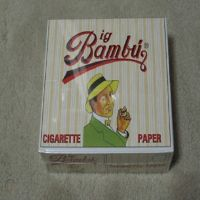 Turkey Premium Quality Big Bambu Flavored rolling smoking papers for sale