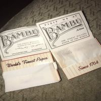 Premium Quality Big Bambu Flavored rolling smoking papers cheap