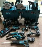 Makita LXT1500 18-Volt Li-Ion Cordless 15 Pieces Combo Kit