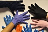Free Blue Nitrile Gloves, Waterproof High Quality Powder Free Latex Free Blue Nitrile Gloves
