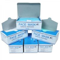 Surgical Face Mask, Non-woven Disposable Dental 3 Ply Face Mask