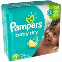 Pampers Baby Dry Diapers All Sizes 228 Count