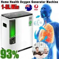 Portable 1-8L min Full Intelligent 93% O2-Oxygen Concentrator Generator Machine
