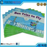 Full Color Children's Book Offset Printing matt Lamination Throughout
