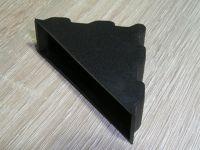 Plastic corner protectors for packaging