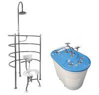 Vuoksa hydrotherapy platform (model Optima)