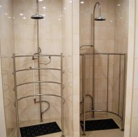 Modern circular shower