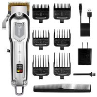 Hair Clippers Professional Cordless Hair Beard Trimmer Haircut Grooming Kit Rechargeable
