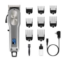 Authentic latest Cordless Hair Clippers for Men SUPRENT Professional Hair Cutting Kit