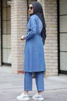 Elit Denim Islamic Dress