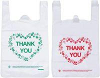 PE T-shirt Handle Vest Carrier Plastic Bags Shopping Bag Tote Bag.