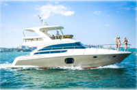 BEST AFFORDABLE SUPER LUXURY CLASSIC FIBERGLASS YACTH WITH BEST PRICE
