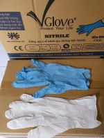 VGlove Disposable Powder-Free Nitrile Exam Gloves, Medium, XLarge Large 8mm thickness 100/Box (VGLOVE)