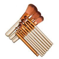 12Pcs Pro Kabuki Makeup Brushes Set Foundation Powder Eyeshadow Blending Brush