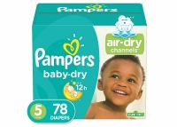 Pampers Baby Dry Diapers Super Pack - (Select Size)