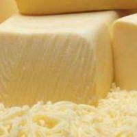 mozzarella cheese block made from fresh milk