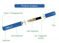 Portable japan vape other electronic cigarettes oil capacity 0.5ml/1.0ml vape